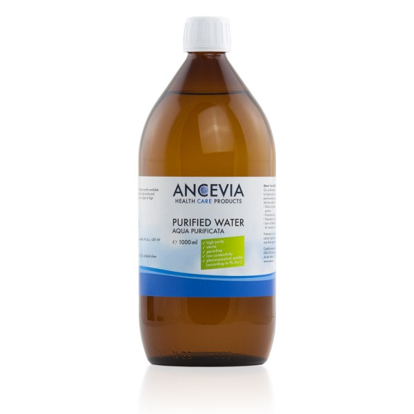 ANCEVIA® Purified Water (AQUA PURFICATA) 1000 ml