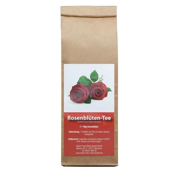 Rosenblüten Tee geschnitten 100 g von Robert Franz