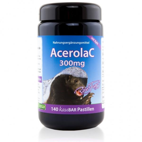 Acerola C 300 mg - 140 kauBAR Pastillen von Robert Franz
