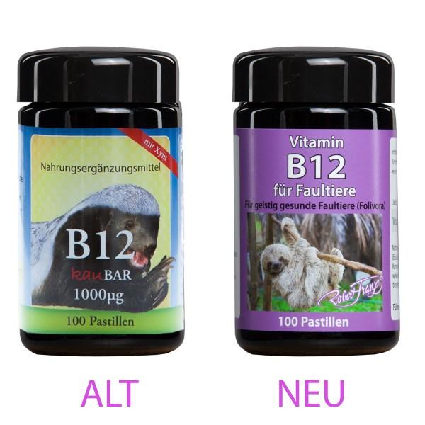 Vitamin B12 Pastillen für Faultiere von Robert Franz