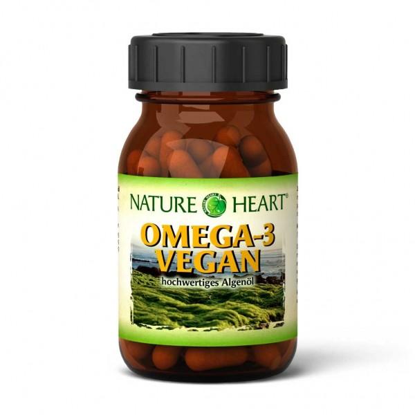 Omega-3 vegan - 1 Glas mit 60 Kapseln