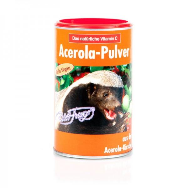 Acerola-Pulver Vitamin C Vegan von Robert Franz