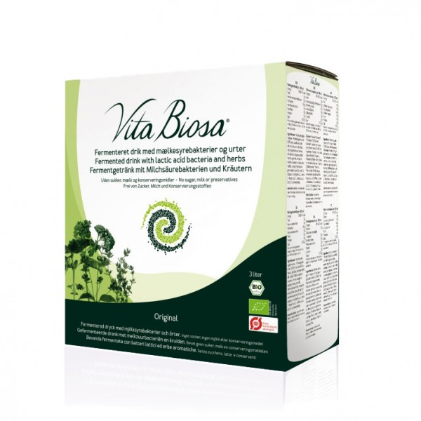 Vita Biosa Kräuter 3 Liter Bag-in-Box, Bio