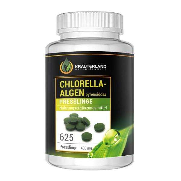 Bio Chlorella Algen 625 Presslinge