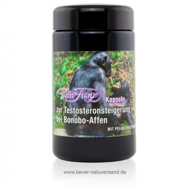 Kapseln zur Testosteronsteigerung bei Bonobo Affen von Robert Franz