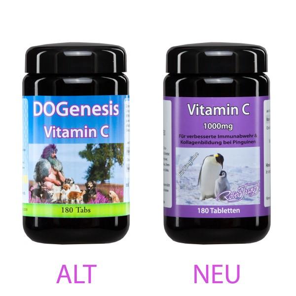 Vitamin C 1000 mg für Pinguine 180 Tabs von Robert Franz