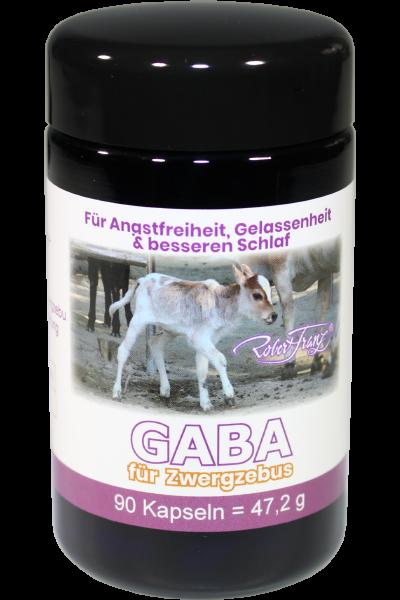 GABA Kapseln – Für Zwergzebus – 90 Kapseln von Robert Franz
