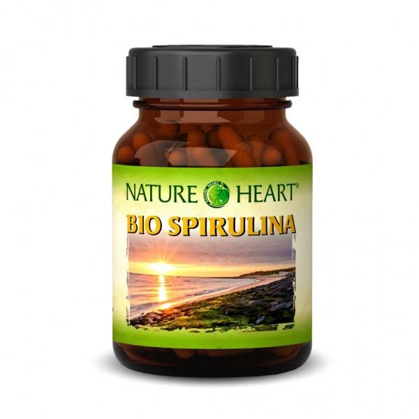 NATURE HEART Bio Spirulina - 1 Glas mit 300 Presslingen