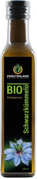 BIO-Schwarzkümmelöl ägyp. - gefiltert 250ml