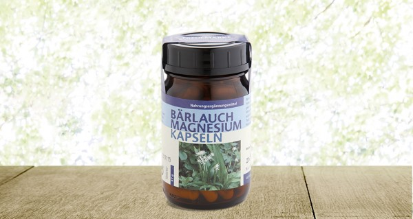 Dr. Pandalis® Bärlauch Magnesium Kapseln 90 Stück