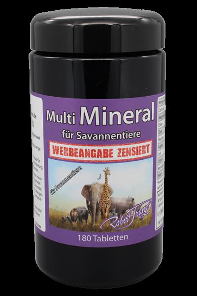 Multi Mineral für Savannentiere 180 Tabs. von Robert Franz