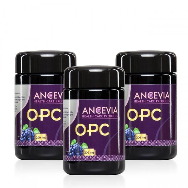 Ancevia® OPC 200mg 3 x 60 Vegane Kapseln im Set