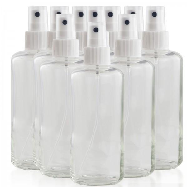 Glas-Sprühflasche 200 ml 10er Set