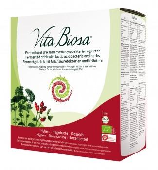Vita Biosa Hagebutte 3 Liter Bag-in-Box, Öko