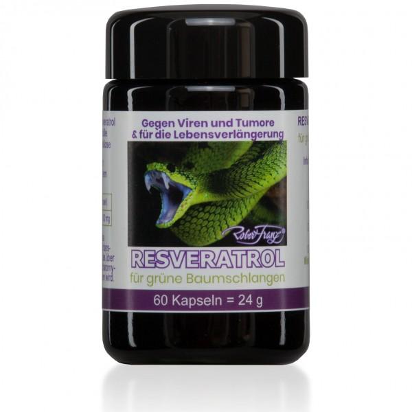Resveratrol – 60 Kapseln – für grüne Baumschlangen