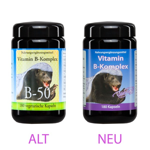 Vitamin B Komplex 180 Kap. von Robert Franz