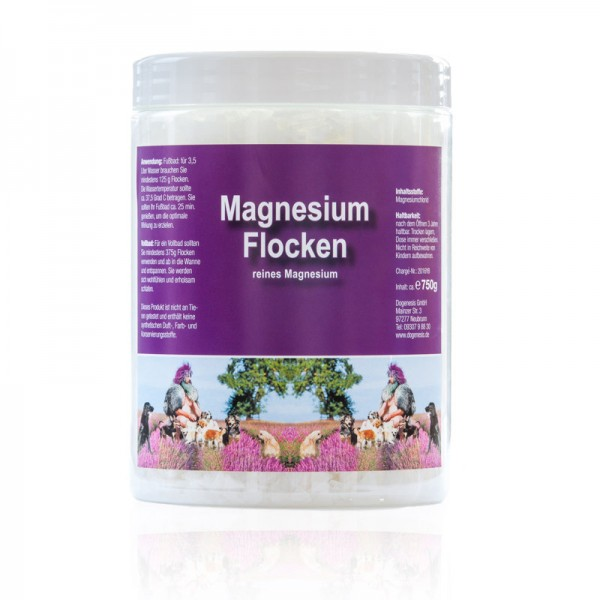 Magnesium Flocken 750 g