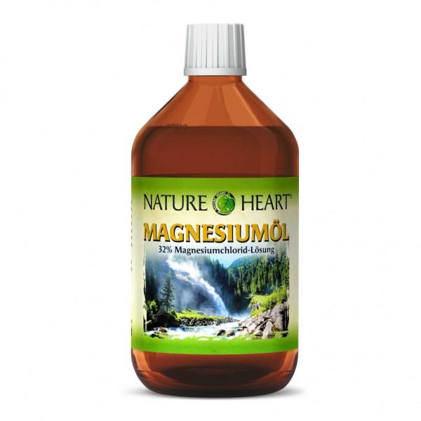 NATURE HEART MAGNESIUMÖL - 1 Flasche mit 500 ml