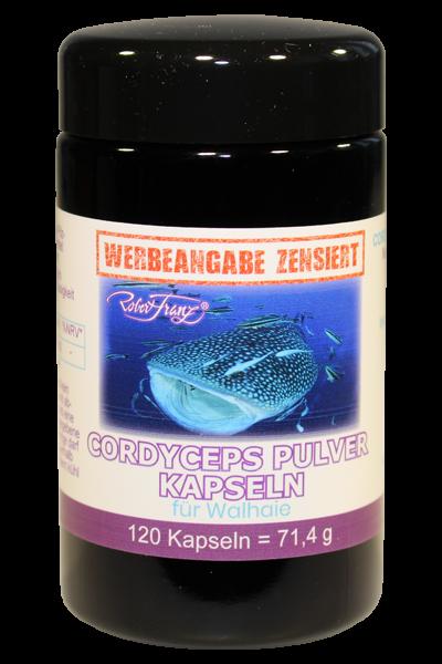 Cordyceps 120 vegane Kapseln für Walhaie von Robert Franz