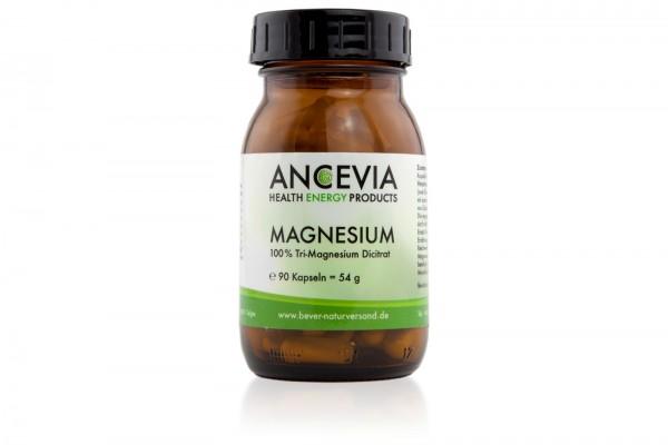Ancevia® MAGNESIUM - Tri-Magnesium Dicitrat - 1 Glas mi 120 Kapseln