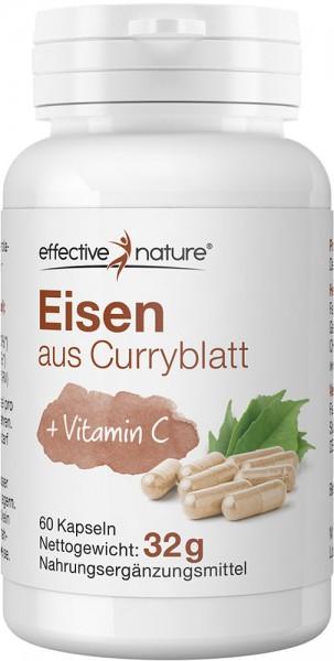 Eisen aus Curryblatt + Vitamin C
