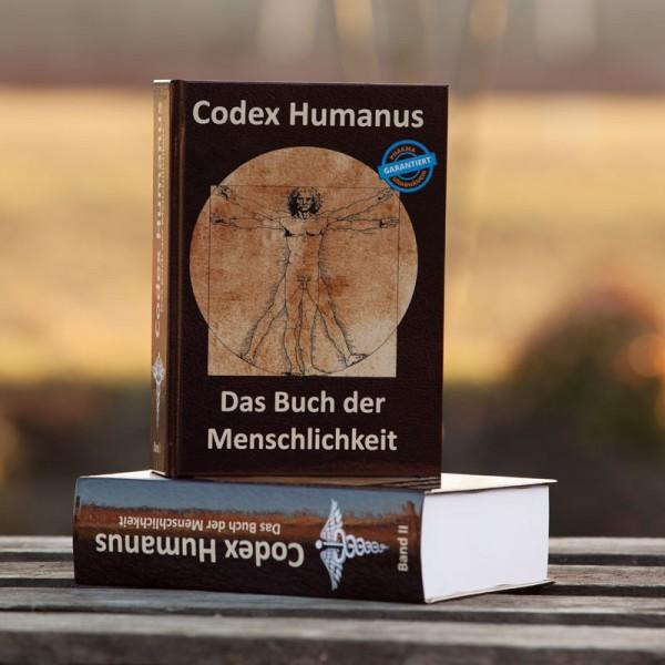 """Buch """"Codex Humanus-das Buch der Menschlichkeit Band 1 + 2"""