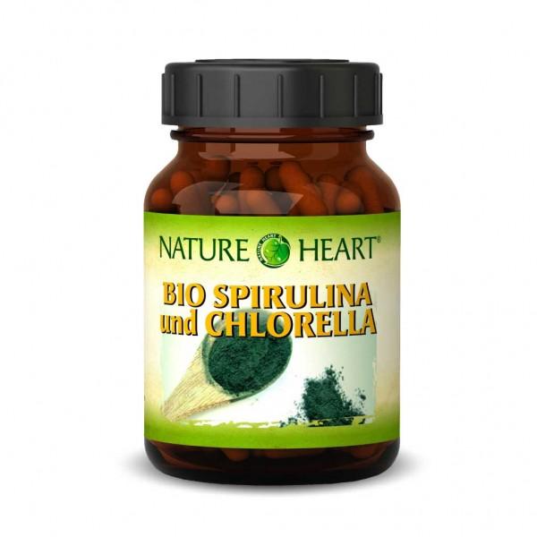 Bio Spirulina und Chlorella - 1 Glas mit 365 Presslingen